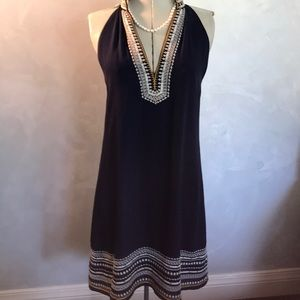 3/$25 THML Embroidered Shift Dress